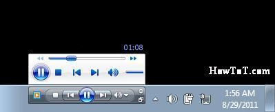 How to Enable Windows Media Player Taskbar in Windows 7