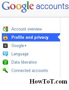Hide Relationship Status in Google Plus