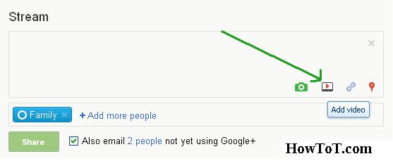 How To Upload Videos In Google Plus