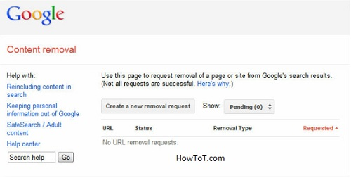 How to remove your social media from Google search