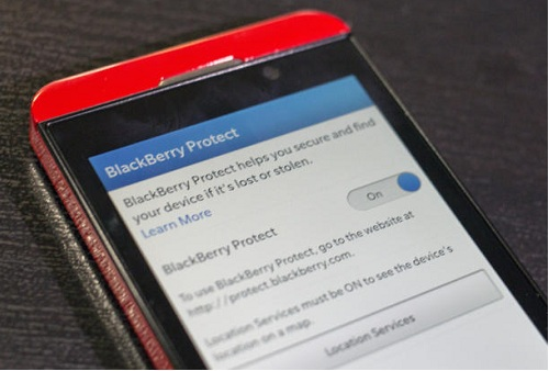 How to Track down a lost BlackBerry 10 device with BlackBerry Protect