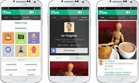 Find the zoom feature in Vine for Android