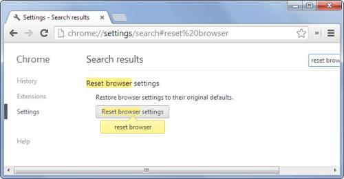 How to revert to Factory Settings in your browser