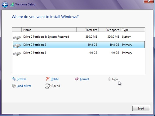 How to Create Separate Partitions for Windows