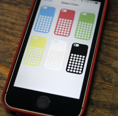 How to use CaseCollage app for iPhone 5C