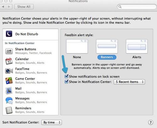 Tips to Avoid Lock Screen Notifications in OS X Mavericks