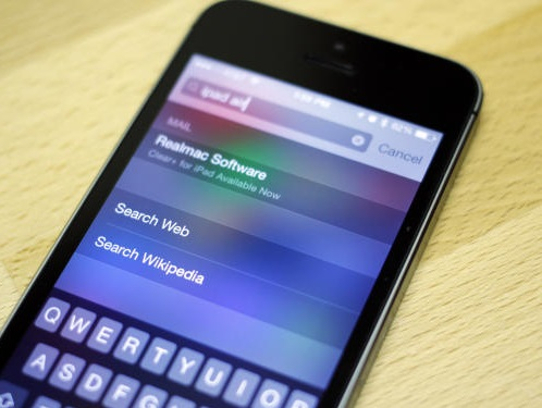 How to use Spotlight in iOS7 : Search Web, Wikipedia